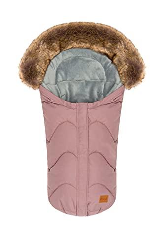 Fillikid Winterfußsack Lhotse Exclusiv   Babyfußsack Winter   Universal Kinder Fußsack Buggy Kinderwagen   Baby Fußsack Winter für Kinderautositze, Babyschale   Mumienfom   wind- & wasserabweisend