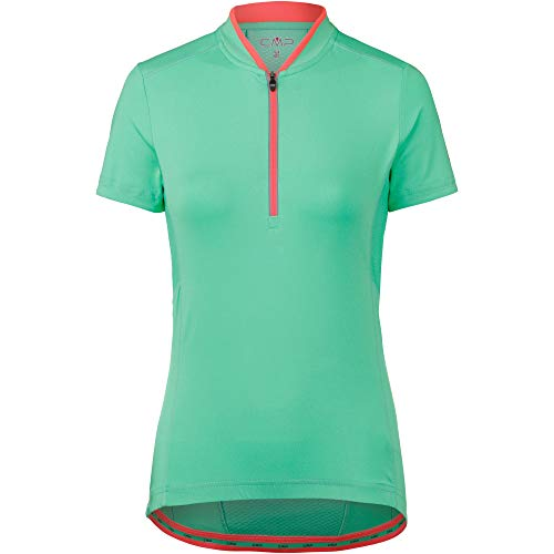 CMP Damen Rad Shirt Trikot, Aquamint, D40