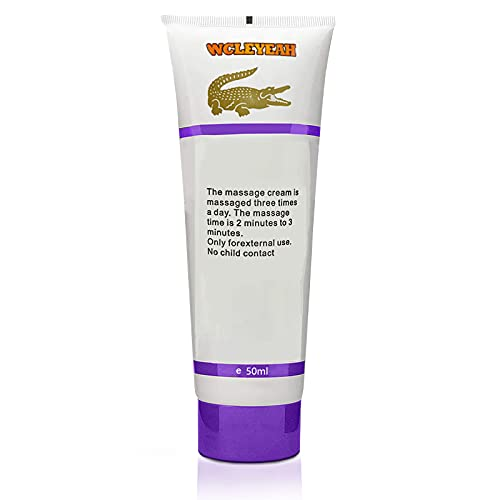 Enlargement Cream of Private Part,Body Massage Cream Extender Cream 50ml Thicker Longer and Strong for Male