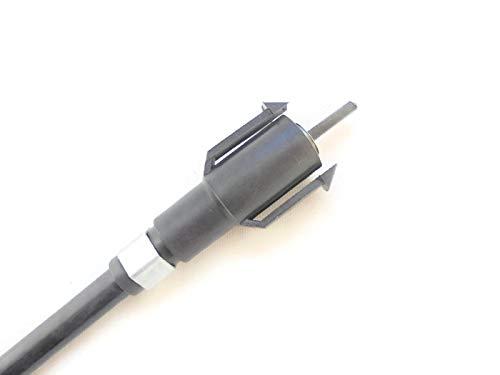 LINMOT LDS Derbi Senda 50 DRD SM - Cable Bowden para tacómetro, Negro