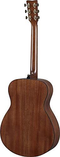 YAMAHA STORIA III Chitarra Folk Chitarra Acustica 4/4 in Legno con Pickup Design Accattivante e Suono Caldo e Bilanciato, Alta Qualità, Marrone Cioccolato