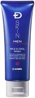 アンファー (ANGFA) Dスキン メン ワイルド&クールウォッシュ 100g 男性用 洗顔料 皮脂の汚れ