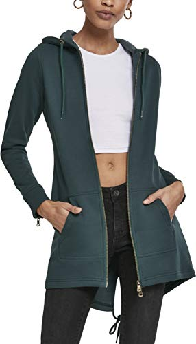 Urban Classics Damen TB1075 Strickjacke, Grün (Bottlegreen 02245), L