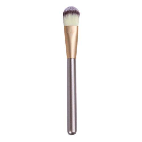 Affeco Manche en bois Pinceaux de maquillage Fond de teint visage Masque visage Boue Care outils