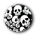 Totenkopf Skull Button Ansteckbutton #18 (2,5cm) -