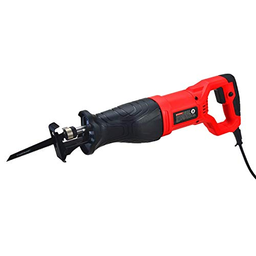 PowerSmart PS4010 Reciprocating Saw, 7.5 Amp Variable Speed Corded Reciprocating Saw