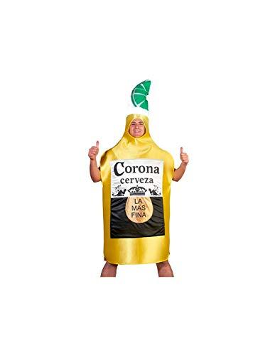 DISBACANAL Disfraz de Cerveza Corona - -, XL