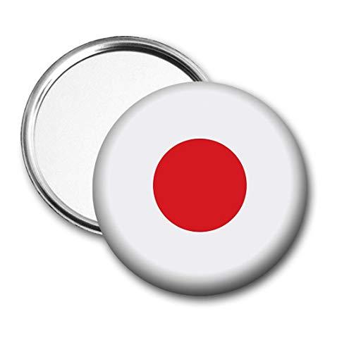 Japan Vlag Pocket Spiegel voor Handtas - Handtas - Cadeau - Verjaardag - Kerstmis - Stocking Filler - Secret Santa