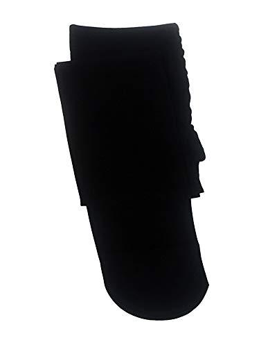 Niñas Leggings Baile Pantimedias Medias de Ballet Color Sólido Sección Delgada Negro M