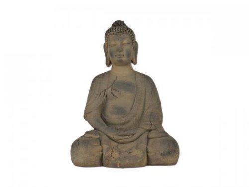 Aniba Design sitzender Buddha Abmessung ca. 36x31x51 cm ABBU033-3