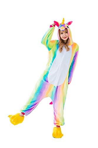 Kauson Monkey Kigurumi Flanela Unicornio Pijamas la Ropa de Noche del Traje Onesie 3D Novedad Mono Cartoon Animal Cosplay Disfraces Mascotas Carnaval Halloween Navidad Ropa especializada para Adultos