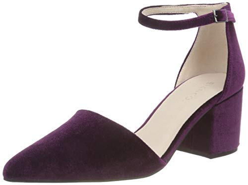 Bianco Damen Divided Pump Pumps, Violett (Purple 524), 39 EU