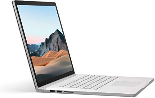 Microsoft Surface Book 3 Hybrid (2-in-1) Platinum 34.3 cm (13.5') 3000 x 2000 pixels Touchscreen 10th gen Intel Core i7 16 GB LPDDR4x-SDRAM 256 GB SSD Wi-Fi 6 (802.11ax) Windows 10 Pro -