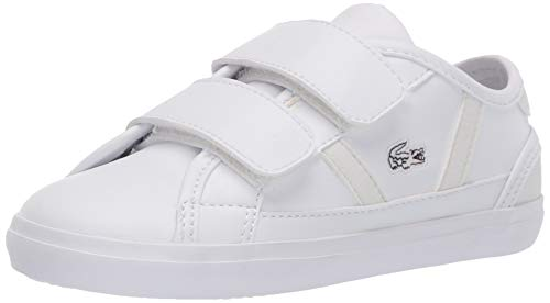 Lacoste Baby Sideline 120 2 CUI Sneaker, White/Off White, 5 Medium US Toddler