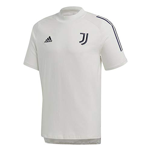 adidas Juve Tee, T-Shirt Uomo, Orbit Grey/Legend Ink, 2XL