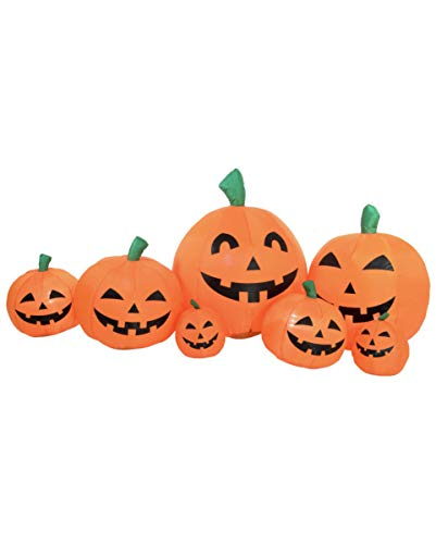 Horror-Shop Calabaza Familia Halloween Deco Inflable Figura 235 Cm