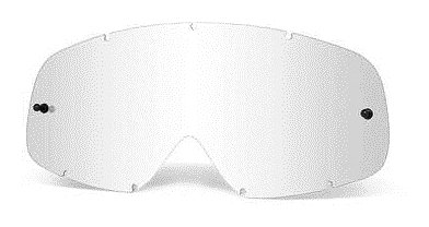 Oakley O-Frame MX Replacement Lens (Clear, One Size)