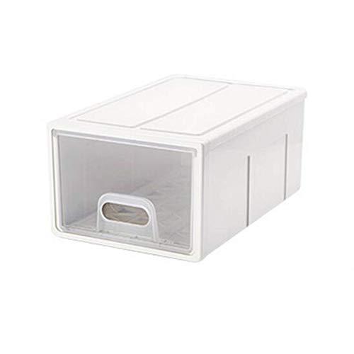 YINGGEXU Caja de Almacenamiento Caja de Almacenamiento de Caja Transparente Caja de Almacenamiento de cajón Caja de Almacenamiento de Armario Grande bebé Ropa Capa Caja de Almacenamiento
