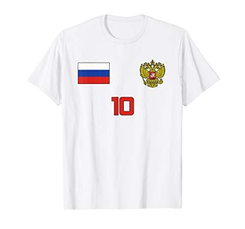 RUSSIA SOCCER JERSEY STYLE RUSSIAN FUTBOL MEN WOMEN KIDS T-Shirt