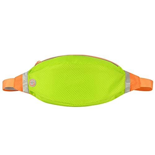 ZXZS Bolsa De Cintura Deportiva Bolsa De La Cintura para Teléfono Móvil Al Aire Libre Impermeable para El Ciclismo, Correr, Montañismo, Tanto Hombres como Mujeres