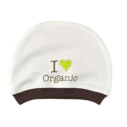 For Babies - Bio-BaumwolleBaby Neugeborene Mütze - Mädchen und Jungen - Erstlingsmütze -100% organic cotton - Made in EU (I love organic)