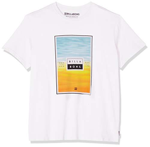 BILLABONG Tucked Tee SS T-Shirt, Uomo, Bianco (White 10), M