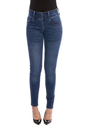 PIONEERJEANS Pioneer Jeans Woman, Modelo 947, Denim, Pantalón Mujer Push.Up