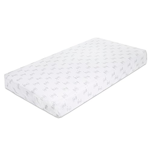 Aden by aden + anais Classic Crib Sheet; 100% Cotton Muslin; Super Soft; Breathable; Tailored Snug Fit; Safari Babes - Elephant