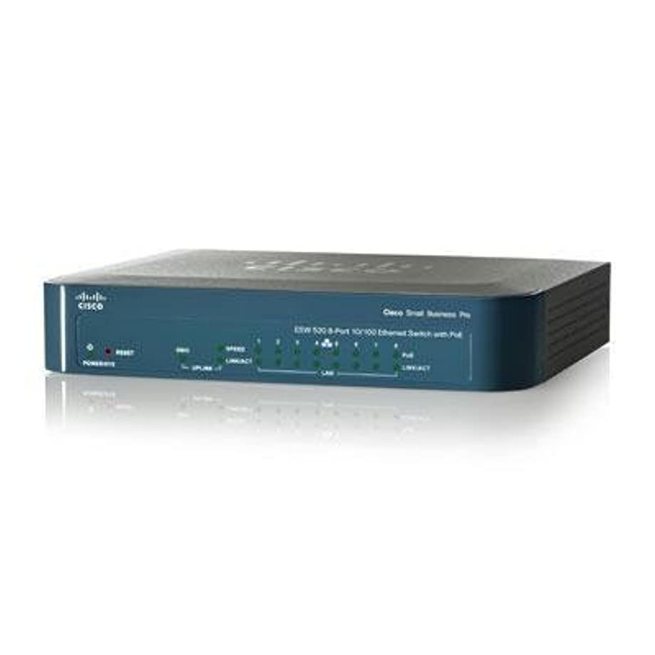 Selected 8-port 10/100 PoE, 1 combo SF By Cisco