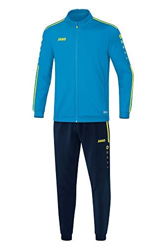 JAKO Kinder Striker 2.0 Trainingsanzug Polyester, blau/Neongelb, 140