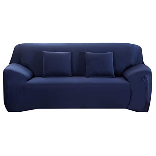 Wote Elasticity Sofa Cover Extensible Couch Cover SofaCovers Sectional Solid Color Single/Two/Three/Four Seats L Shape