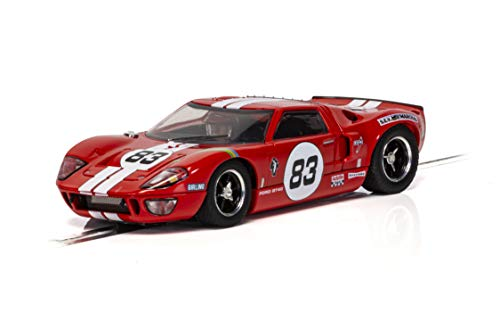 Scalextric Ford GT40#83 1:32 Slot Race Car C4152