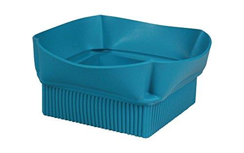 Be Ware Light Concept 91.104.40.0065 Conteneur en Silicone, Bleu Sarcelle, 11 x 22,5 x 20,5 cm