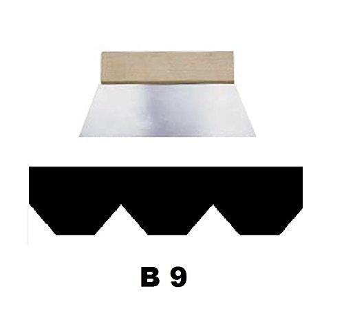 Leim Klebstoff Zahnspachtel Bodenleger Normalstahl B9 10.0x6.0mm gezahnt 180mm