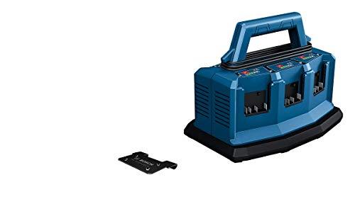 Bosch Professional 18V System Multi-Ladegerät GAL 18V6-8 (Akkuladestrom: 8A, ohne Akkus, inkl. L-BOXX-Adapter, im Karton)