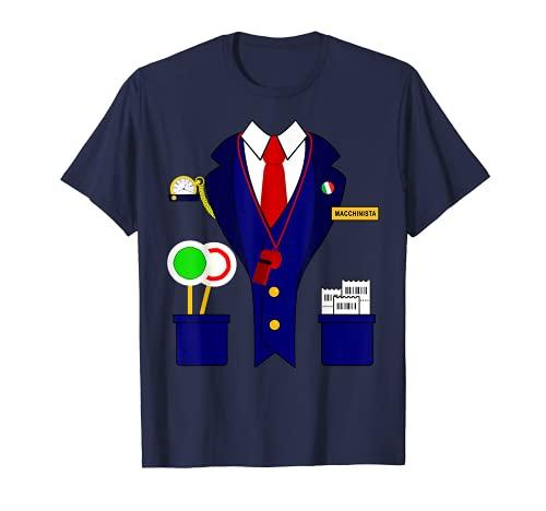 Disfraz de tren ferroviario para nios Camiseta