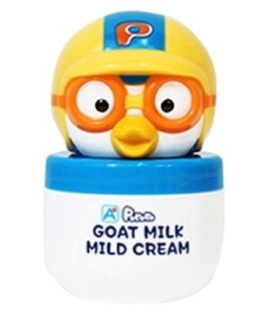 キネマティクスジャーナリスト宙返りPORORO Goat Milk Mild Cream 60g [並行輸入品]