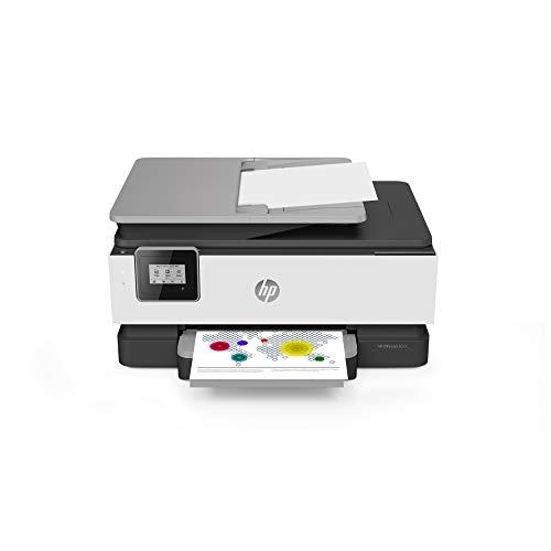 HP OfficeJet 8014 Multifunktionsdrucker (HP Instant Ink, A4, Drucker, Scanner, Kopierer, WLAN, Duplex, HP ePrint, Airprint, mit 6 Probemonaten HP Instant Ink Inklusive) basalt