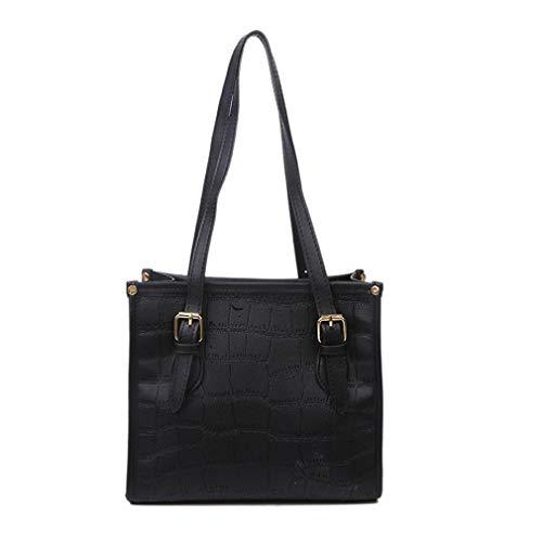 Fashion Soft Portable Umhängetasche Klein Quadratische Tasche Messenger Bag Einfache Unterarmtasche Handytasche für Frauen