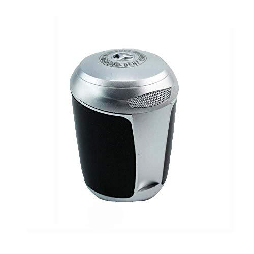 PSTBWYL Auto LED Aschenbecher, Kreatives Hochtemperatur-Multifunktionsauto Mit Deckel Aschenbecher, Mercedes-Benz Mercedes, schwarz