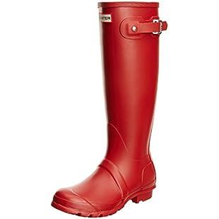 Hunter Original Tall, Women's Wellington Boots, Red (Military Red), 5 UK (38 EU):Cnsrd
