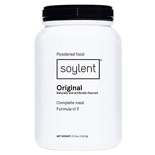 Soylent Complete Nutrition Gluten-Free Vegan Protein Meal Replacement...