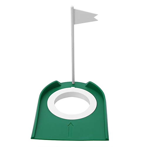 Find Bargain Plastic Golf Cup, Practice Golf Practice Golf Cup Practice mat with Adjustable Hole Whi...