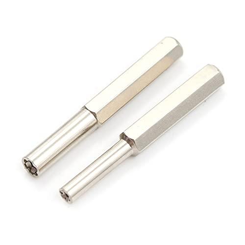 Destornillador de seguridad de acero inoxidable de 3,8 mm + 4,5 mm, broca G para destornillador cruzado triple-1 pieza de 4,5 mm