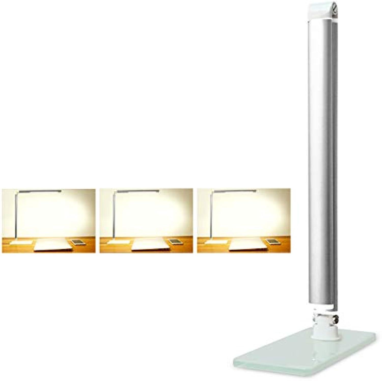 XB-XIAO Führte Schreibtischlampe TischlampenEye-Caring Touch Sensitive Control Leselampe für Office Home Lesen WorkStandard Edition