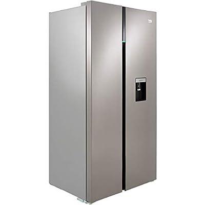 Beko RASGD242PX American Fridge Freezer - Brushed Steel