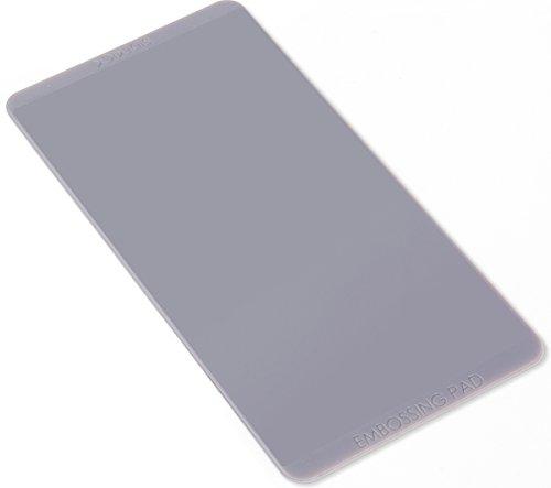 Sizzix Accesorio, Almohadilla de repujado (gris), Multicolor, Talla Única