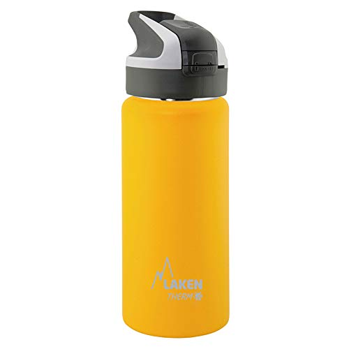 Laken Botella Térmica Reutilizable Summit de Acero Inoxidable con Tapón Automático y Cierre de Seguridad. 350, 500, 750 ml