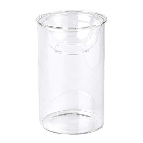 SPICE OF LIFE(スパイス) 花瓶 水栽培 ガラスベース BULB VASE バルブベース クリア ショート 直径8cm 高さ13cm KEGY4060