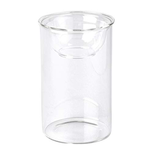 SPICE OF LIFE(スパイス) 花瓶 水栽培ガラスベース BULB VASE バルブベース クリア ショート 直径8cm 高さ13cm KEGY4060